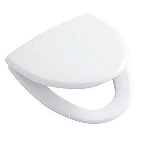 Ifö Cera toiletsæde med quick release/faste beslag. Hvid