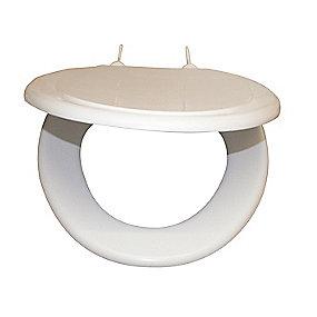 Ifö universal toiletsæde. Blød model. Hvid