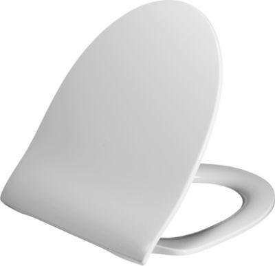 Pressalit toiletsæde 956 med softclose til Ifö Spira. Hvid