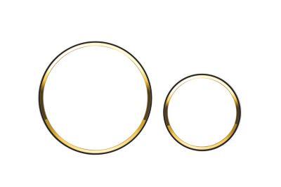 Geberit SIGMA20 betjeningsplade hvid guld hvid