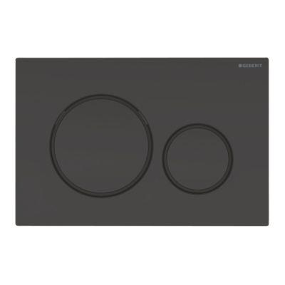 Geberit SIGMA20 betjeningsplade 246x164x12mm dybsort RAL 95