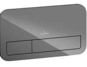 V&B ViConnect vægtryk M200 sort glas