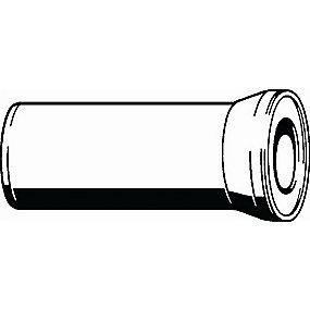 Viega Kloset Tilslutningsrør 250 mm Hvid