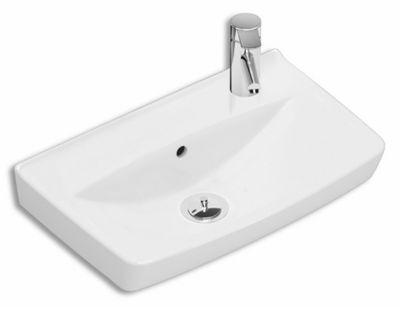 Ifö Spira 15017 vask lige 500 x 310 mm. hanehul højre