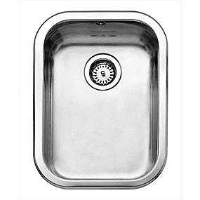 Juvel køkkenvask barents 480x340mm med basketstrainer