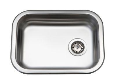 Juvel køkkenvask 480x340mm med strainer