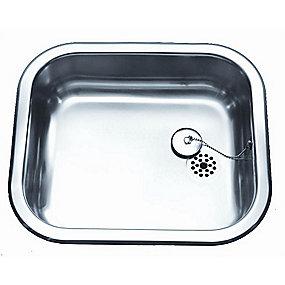 Juvel køkkenvask barents 400x340mm med prop