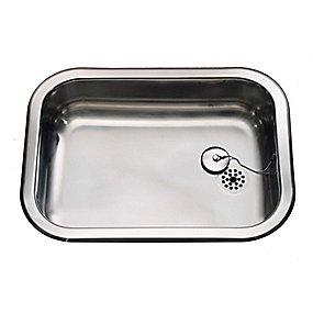 Juvel køkkenvask barents 480x340mm med prop