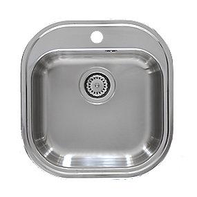Juvel Intra Stylo100 køkkenvask 485x465mm