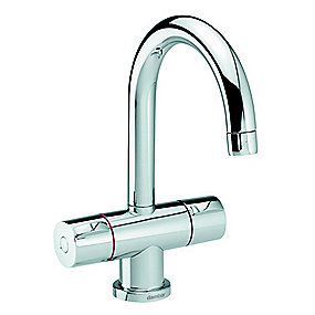 Damixa Titan håndvaskarmatur 2-grebs. uden bundventil. 62021 Krom