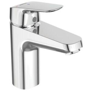 Børma Ceraflex Bluestart Håndvaskarmatur med push open bundventil.1-grebs. Krom