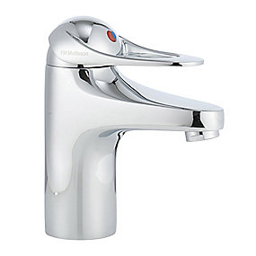 FMM 9000E II håndvaskarmatur med koldstart og Soft Closing.