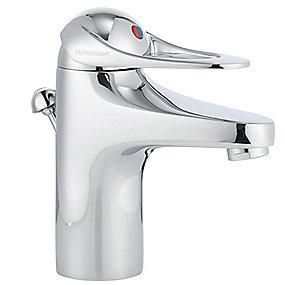 FMM 9000E håndvaskarmatur med løft-op ventil