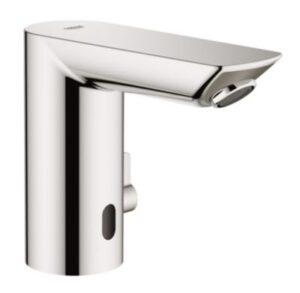 GROHE BauCosmo E håndvaskarmatur berøringsfri 6V. Med temperaturbegrænser. Krom