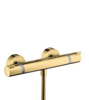 hansgrohe Ecostat Comfort termostatarmatur Poleret guld-optik