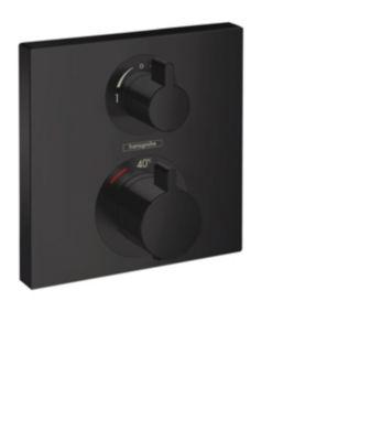 hansgrohe Ecostat Square termostat til indbygning med afspærring til 2 udtag