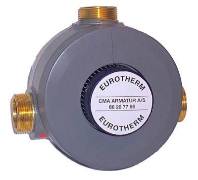CMA Eurotherm Ultramix termostatisk blandeventil 3/4''. 1-8 tappest.