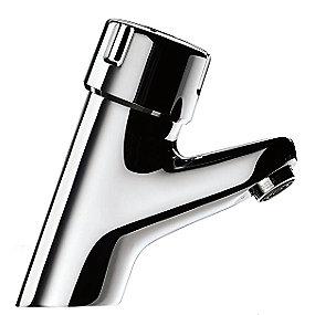 CMA Tempomix håndvaskarmatur 1-grebs. Til koldt og varmt vand. selvlukkende