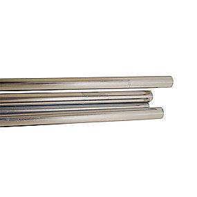 Purus Kobberrør 12x2750mm. Halvhårde. Forkromet