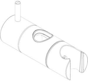 Damixa kit glider til ø21mm rør