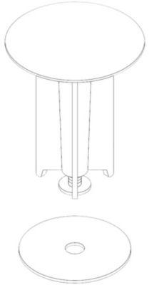 Damixa ventillegeme forkr Damixa 13170 t/bv