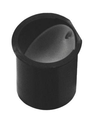 Purus universal membran 40mm Til lodret vandretning. PP Sort
