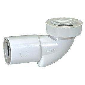 Purus PP bundventil 1.1/2x40mm til håndvask