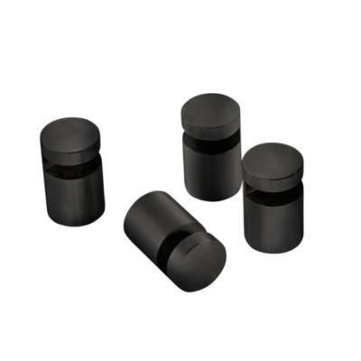 Pressalit Spejlbeslag Sæt á 4 stk. mat sort