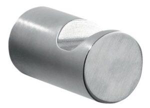 Pressalit Curve krog i poleret rustfri stål. 1 sæt med to stk