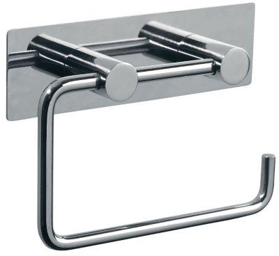 Pressalit Toiletpapirholder med bagplade. Rustfri stål