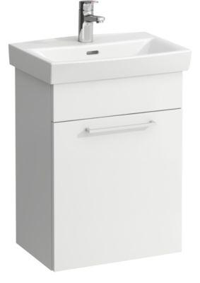 Laufen PRO-N møbelpakke. Med Vask og 1 venstrehængt låge. 50cm hvid