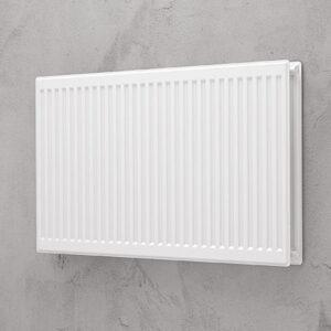 Hygiejne radiator 11 – 400 x 800 mm. 4x½ tomme