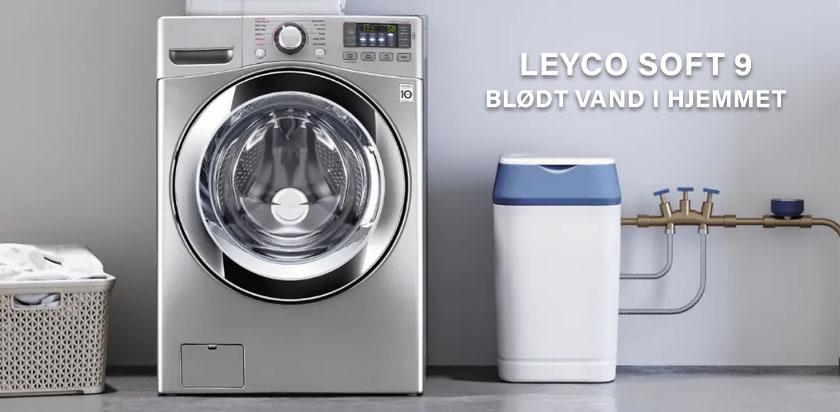 Leyco soft 9 blødgøringsanlæg - Blødt vand i hjemmet